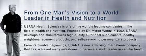 USANA Health Sciences Myron Wentz
